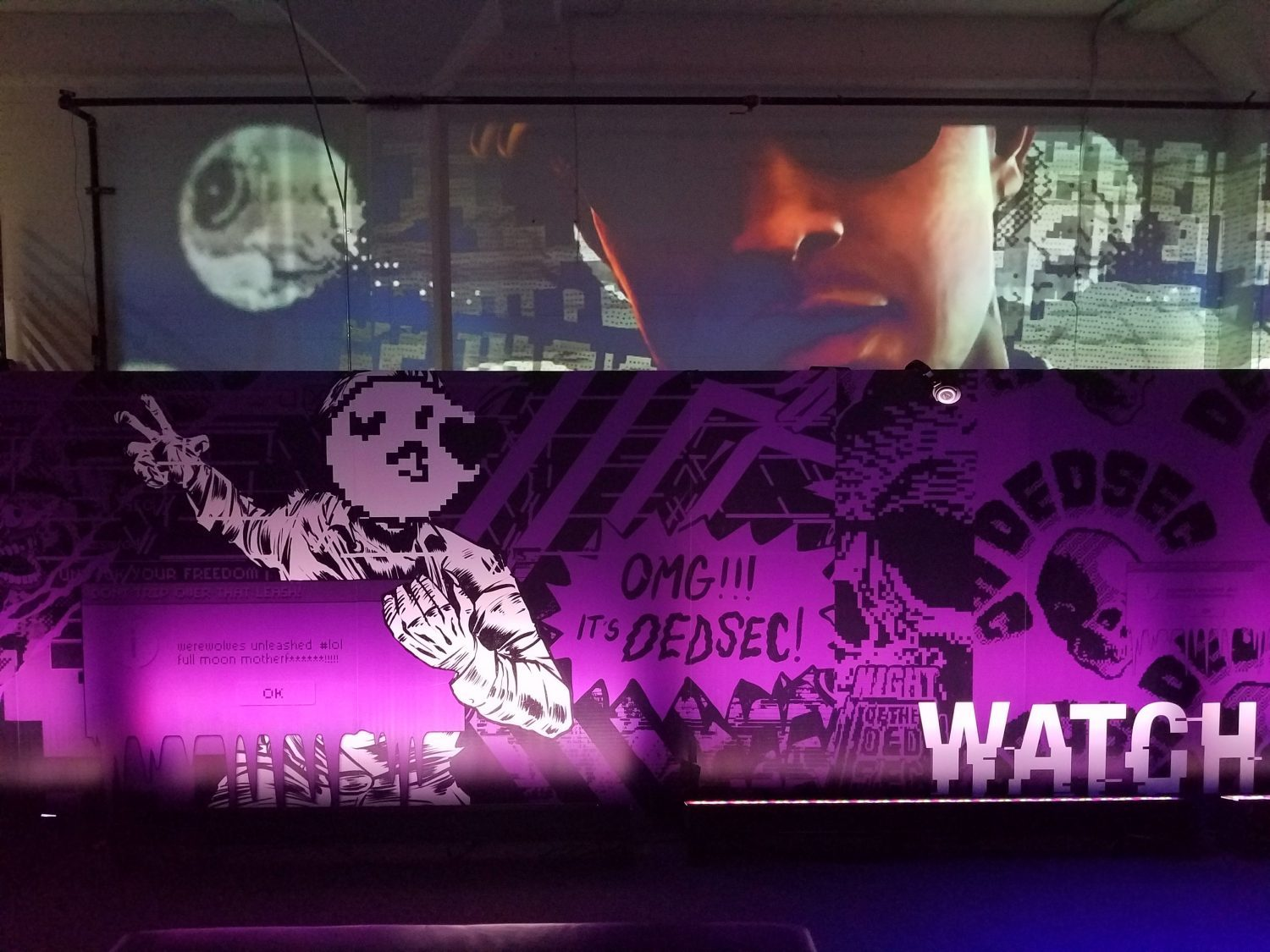 Watch Dogs 2 Main Back Wall Photo