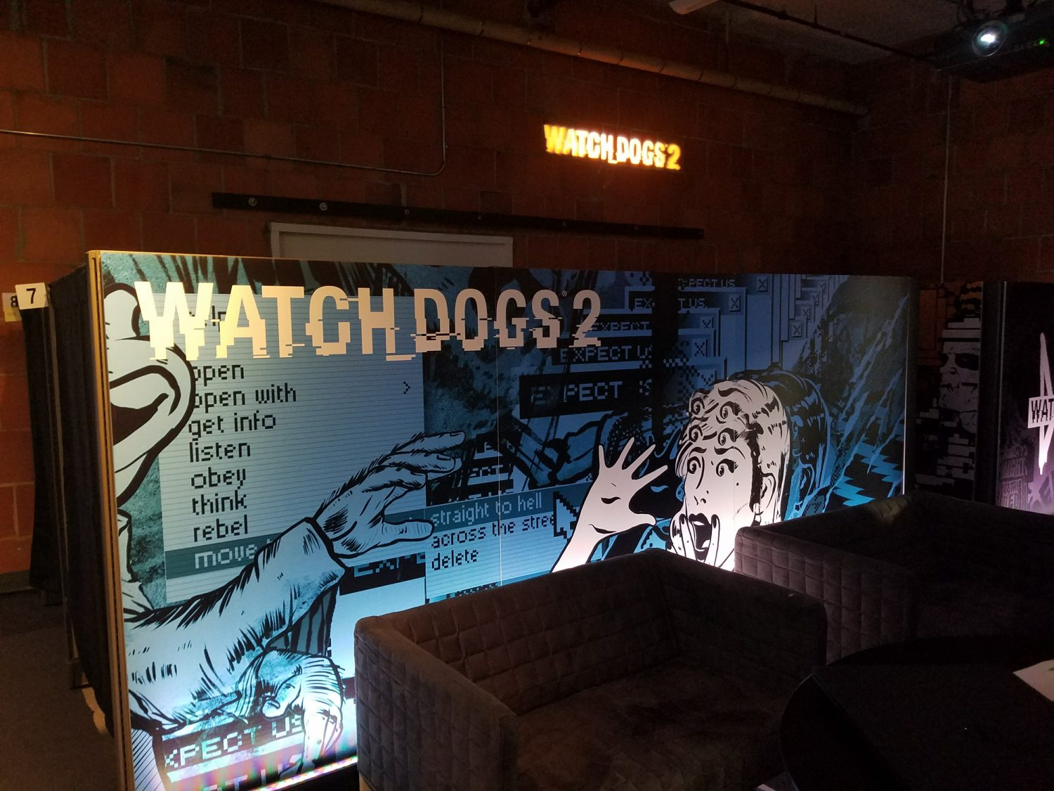 Watch Dogs 2 Paneled Wall