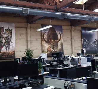 Office branding at work in Ubisoft