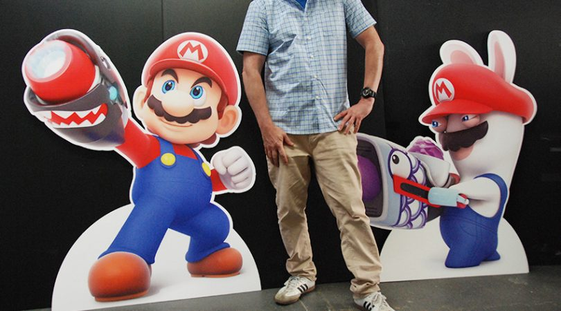 two standing formcuts of video game characters