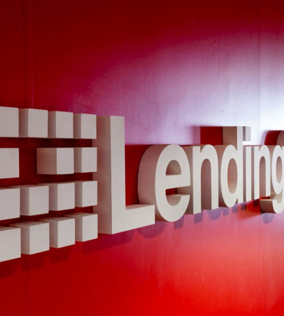 dimensional logo lending club